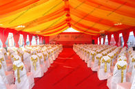 400 Capacity Huge Gala Aluminum Tent With Luxury Lining For Parties And Outdoor Event