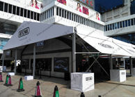 15x15 PVC Roof Outdoor Event Tents for RIMOWA Promotion Event