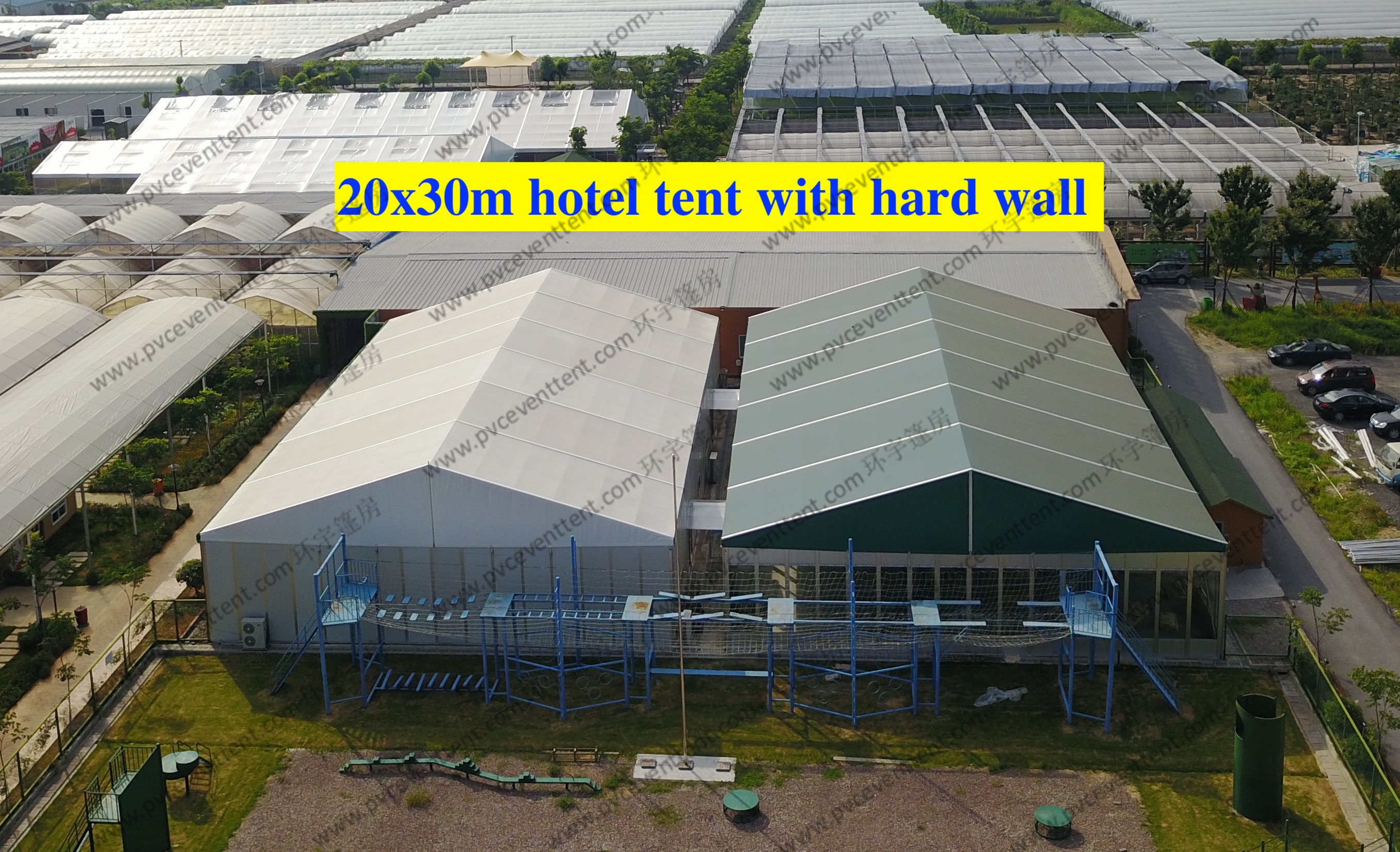 Waterproof Largest Marquee Tent 20*30M Aluminum Frame Structure For Outdoor Event as Hotel