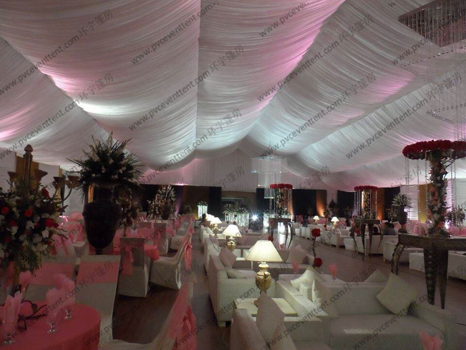 Flame Retardant Outdoor Party Canopy Wedding Tent with Protective Hard Pressed Extruded Aluminum