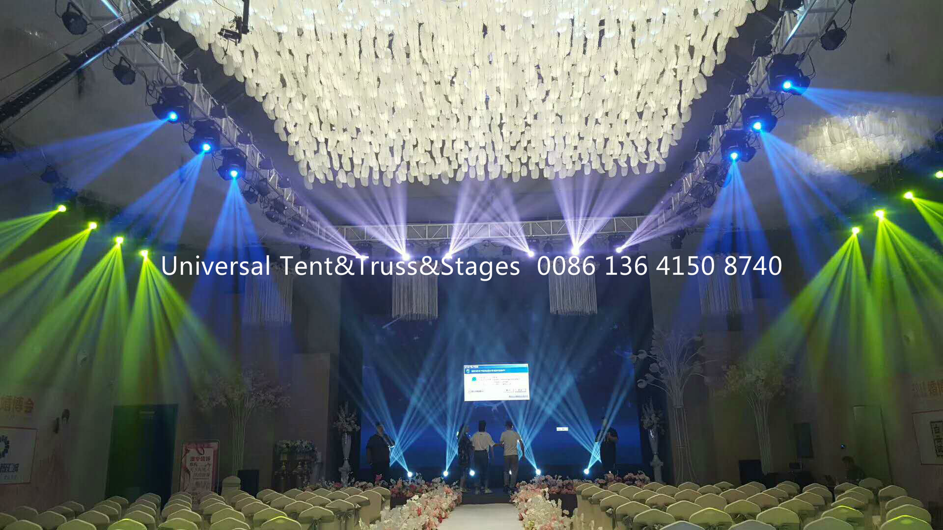 Portable Lighting Stage Truss System