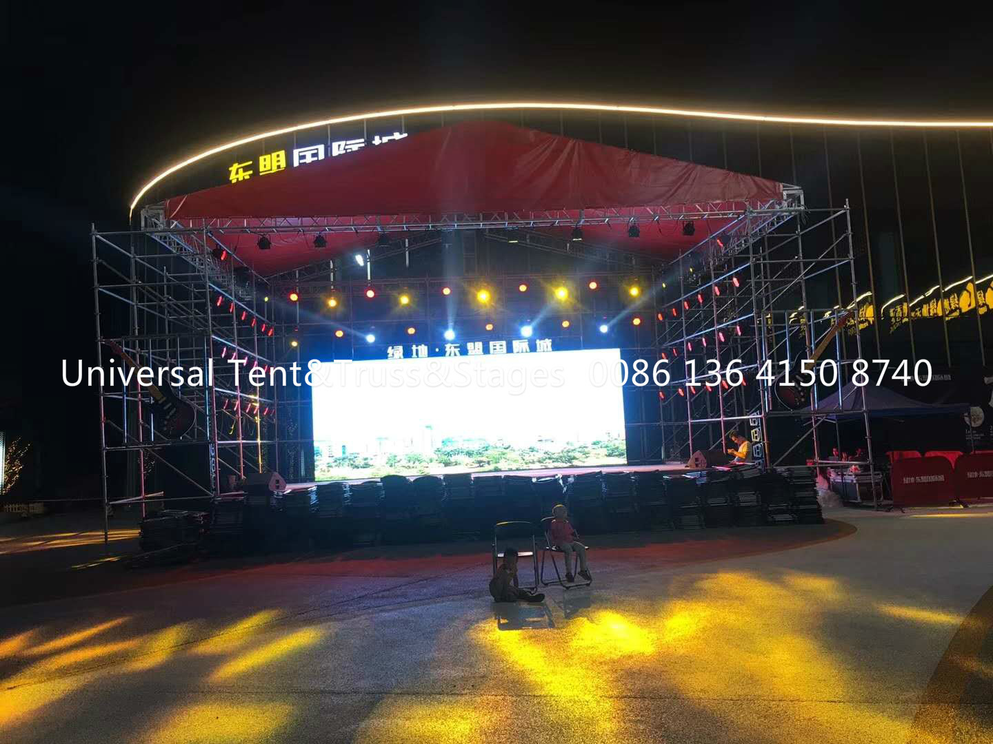 Most Popular Portable Truss System For Outdoor Concert , Event Party , Celebration