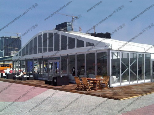 30M X 45M Outdoor Function Catering Tent , UV Resistance Wedding Marquee Tent