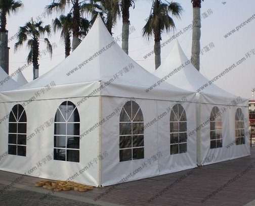 Hot sale Aluminum frame Pagoda Gazebo Outdoor Event party Tent