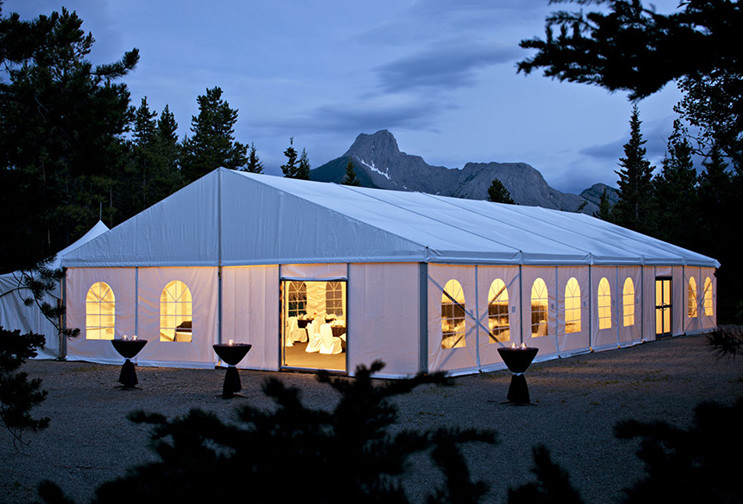 25x50M Large Event Tents With Flooring / Wind Resistant Outdoor Party Tents